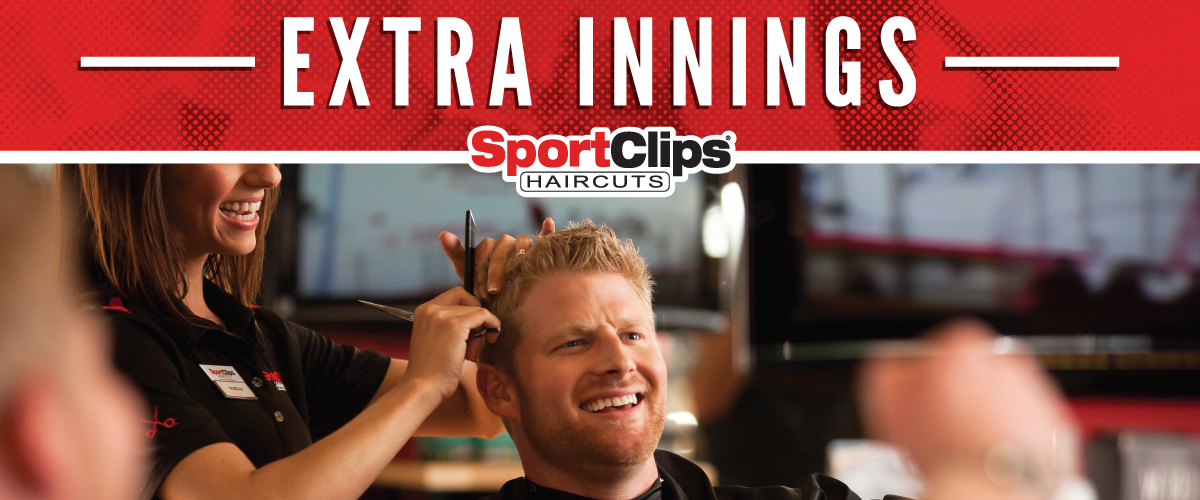The Sport Clips Haircuts of Colleyville/Euless Extra Innings Offerings